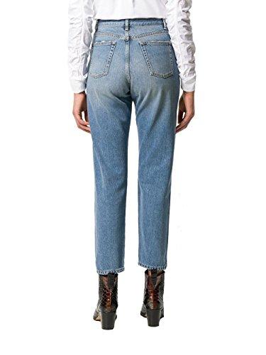 Bleu Jeans Femme Laurent Coton 500389Y868M4061 Claire Saint gw7qx4Ot0t