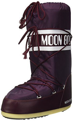 Borgogna Unisex Snow 00 074 boot Moon Adults' 140044 Red O04w56nSqn