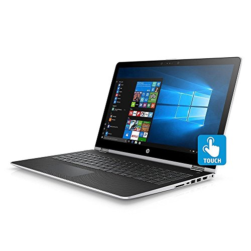 HP 15.6 FHD Touchscreen Convertible 2 in 1 Laptop Tablet, Intel Core i5-7200U, 8GB DDR4 RAM, 128GB SSD 1TB HDD, Radeon 530 Graphics, Windows 10