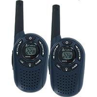 Cobra PR1352 GMRS/FRS 2-Way MicroTalk Radios w/ Backlit LCD Display & Up To 2 Miles Range