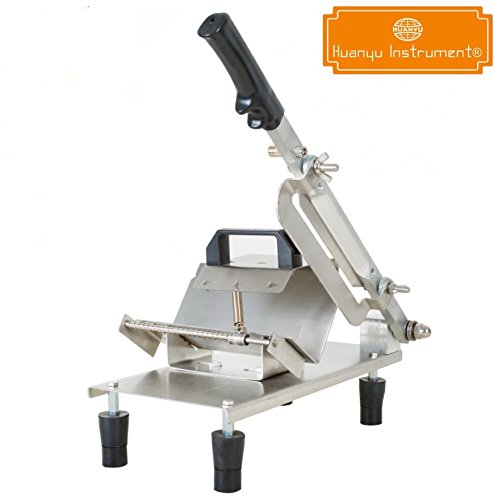 Commercial Household Manual Stainless Steel Meat Cutter Vegetable Slicer Mutton Beef Rolls Machine (1 cutting blade)