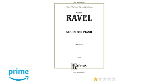 Album: For Piano: 0 (Kalmus Edition)