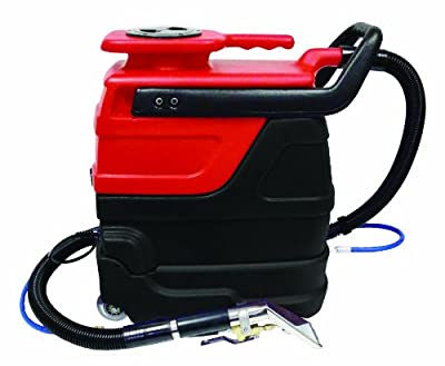 Sandia 50-7000 Single 3 Stage Fan Sniper Indy Automotive Spot Commercial Extractor with In-Line Heater, 3 Gallon Capacity, 55 PSI Pump