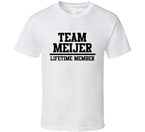 team-meijer-lifetime-member-last-name-cool-t-shirt-s-white