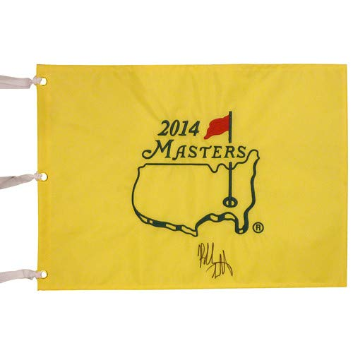 Bubba Watson Autographed Signed Auto 2014 Masters Golf Pin Flag JSA - Certified Authentic (Masters Flag Golf Pin Autographed)