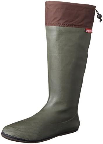 [アトム] 軽くてコンパクト 携帯するブーツ ポケブー pokeboo 両足で500g以下の軽量長靴 371 メンズ