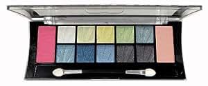 Santee 10 eyeshadows + 2 blushes palette 02