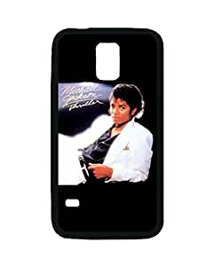 Michael Jackson - Thriller Rubber Custom Durable Fashionable Perfect Design High Quality TPU Silicone Case Cover Skin For Samsung Galaxy S5 i9600 WilsonShop Rubber iPhone S5 Case