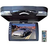 pyle 13 3 inch roof mount monitor multimedia system with built in dvd player usb sd readers and. Black Bedroom Furniture Sets. Home Design Ideas