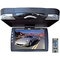Pyle PLRD143IF 14.1-Inch Roof Mount TFT-LCD Monitor with Built-In DVD Player