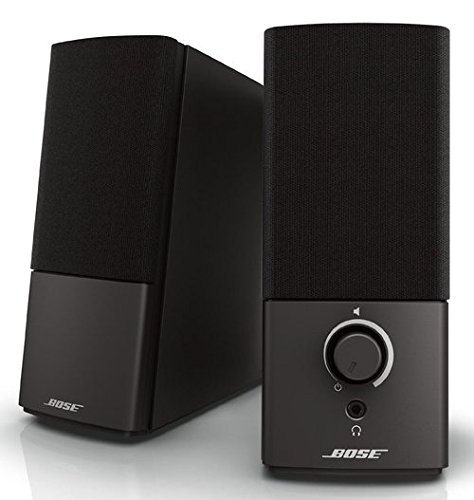 Bose Companion 2 Series III 354495-1100 Speaker System for PC - Wired - 2 Speakers - Black (Certified Refurbished)