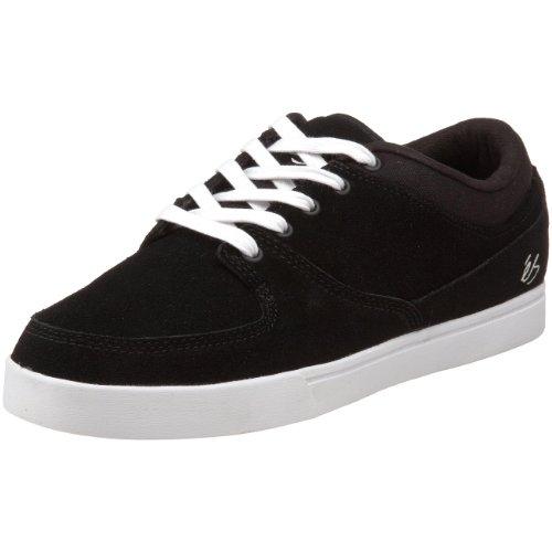 Sneaker es la Brea, Negro (Schwarz/Black/White), 5 Negro (Schwarz/Black/White)