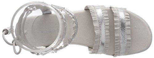 Spartiates Gris Light Grey 411478816459 Femme Silver Bugatti wRq5Px8OW