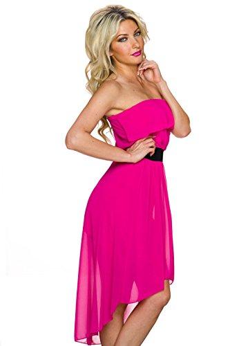 Fashion - Vestido - Noche - Básico - Sin mangas - para mujer Rosa