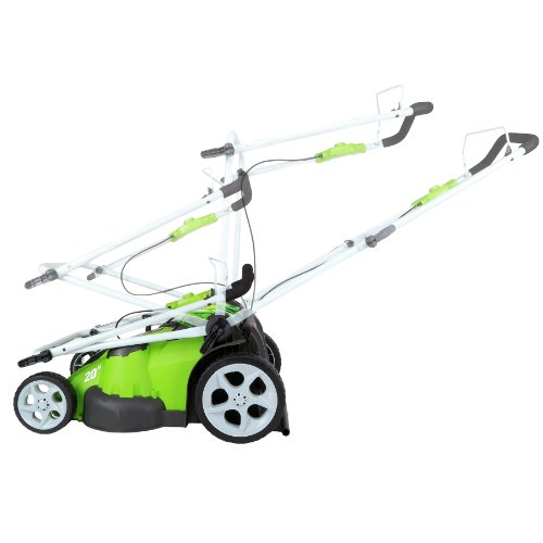 Greenworks 20-Inch 40V Twin Force Cordless Lawn Mower, 4.0 AH & 2.0 AH Batteries Included 25302 by Greenworks (Image #7)