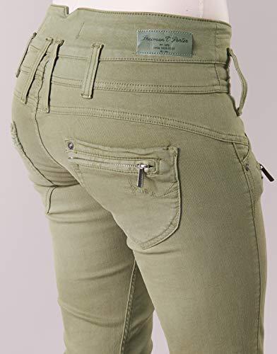 Freeman Pantaloni Straight Donna Porter T f0wrqfH