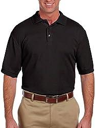 ToBeInStyle Men's Polo Shirt - Black - Small