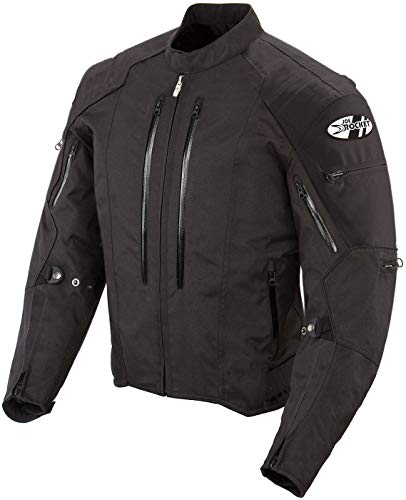 Joe Rocket 1051-5003 Atomic 4.0 Men's Riding Jacket (Black, Medium) ()