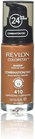 Revlon Colorstay Makeup For Combination/Oily Skin, Cappuccino, 1 Fl Oz
