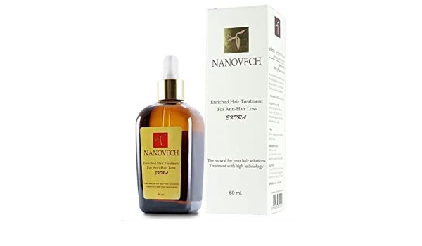 Amazon.com : BEST!! Nanovech Extra Herbal extract -Anti hair loss fall serum- treatment (Double Active) : Beauty