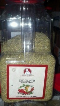 Chef's Quality Thyme Leaves 32 OZ by Chef's Quality
