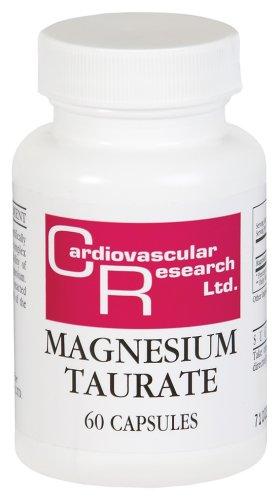 Cardiovascular Research - taurate de magnésium, 125 mg, 60 capsules