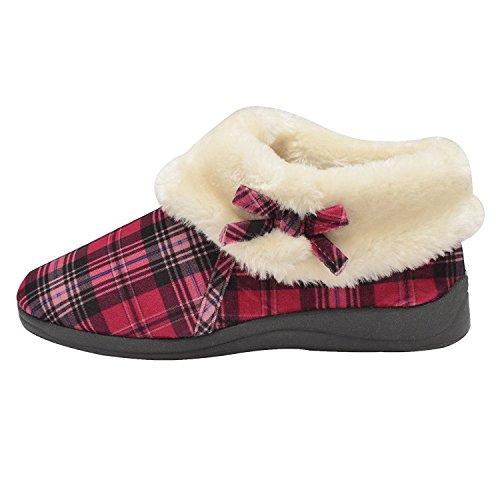 Naisten Kengät Dunlop 4 Fuksia Bessie Tohveli Tarkistus Nilkan Kauluksella Keinoturkista dBwZwa4q