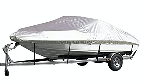 Amazon.com : iCOVER Trailerable Boat Cover, Water Proof Heavy Duty ...