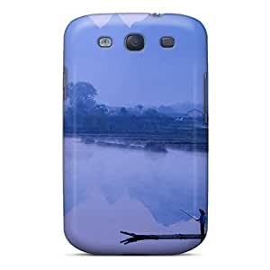 Top Quality Case Cover For Galaxy S3 Case With Nice Li River At Dawn In Yangshou China Appearance