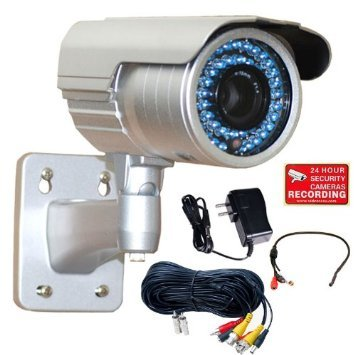 Wide Dynamic Range Pixim - VideoSecu OSD WDR Zoom Infrared CCTV Outdoor Security Camera 1/3