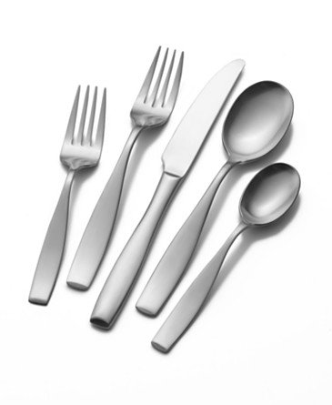Mikasa Satin Loft 65 Piece Stainless Steel Flatware Set
