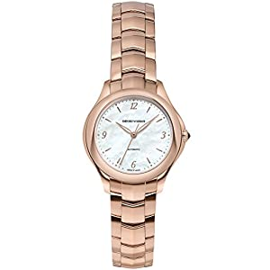Reloj Emporio Armani Swiss Made ARS8552 rose gold Acero 316 L Mujer 3