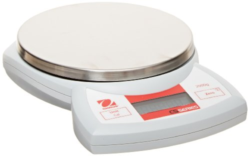 Ohaus CS2000P CS Compact Portable Scales with US postal chart, 2000g Capacity