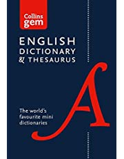 English Gem Dictionary and Thesaurus: The world's favourite mini dictionaries