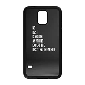 Samsung Galaxy S5 Cell Phone Case Black_No Rest FY1464880