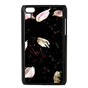 SYYCH Phone case Of Beautiful Petals Falling Cover Case For Ipod Touch 4