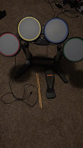 Rock Band Harmonix Wired Drum Kit Set Stand Ps2/Ps3 822148 Playstation (Drum Set Band)