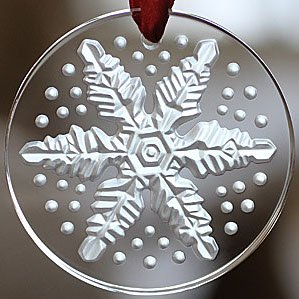 Lalique 2013 Annual Crystal Christmas Ornament - Clear
