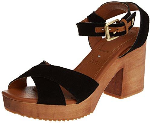 Tacón Mujer Angelic Gioseppo Negro de Zapatos para T1vOT8qaw
