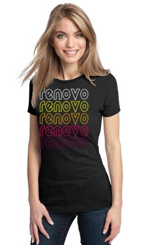 Renovo, PA Retro Vintage Style Pennsylvania Ladies' T-shirt-X-Large