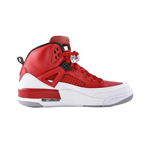 Jordan Spizike BG Big Kids Shoes Gym Red/Black/White/Wolf Grey 317321-603 (7 M US) (Shoes Jordans Kids)