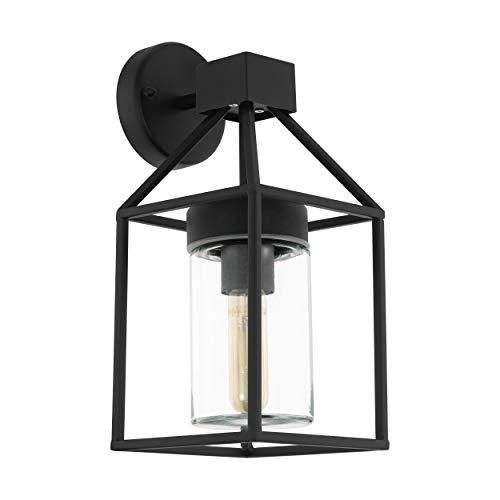 EGLO TRECATE lámpara de pared, 60 W, Negro