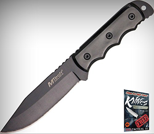M-Tech 20-35BK Fixed Limited Elite Knife Hunter Black 8