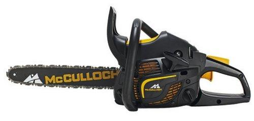 Benzinkettensägen McCulloch CS340 34cc - 35cm Bar, Motor OxyPower mit Soft Start, mit zweite Kette f