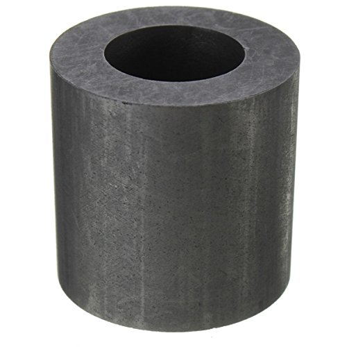 QOJA 25x25mm 2 oz graphite crucible cup ingot bar combo mold for by QOJA (Image #4)