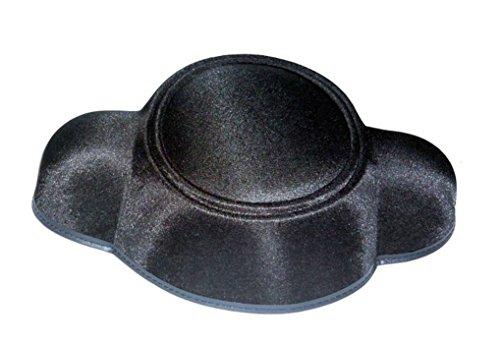 Matador Montera Spanish Black Bull Fighter Permasilk Hat Adult Costume (Matador And Bull Costume)
