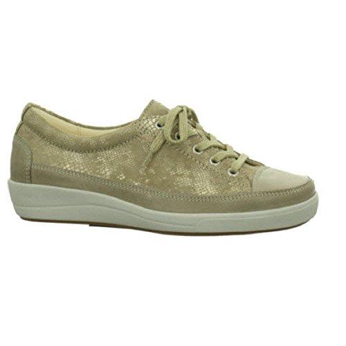 Christian Dietz Locarno - H+ - Zapatos de cordones para mujer 04°düne/beige-gold