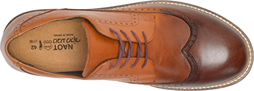 Naot Footwear Men's Magnate - Handgefertigter Cognac Brandy Lederschuh