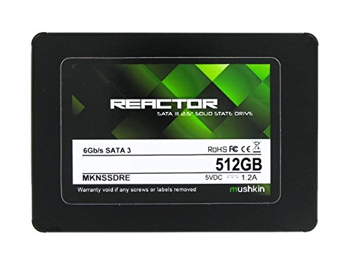 Mushkin REACTOR 512GB Internal Solid State Drive (SSD) - 2.5 Inch - SATA III - 6Gb/s - MLC - 7mm - MKNSSDRE512GB by Mushkin (Image #1)