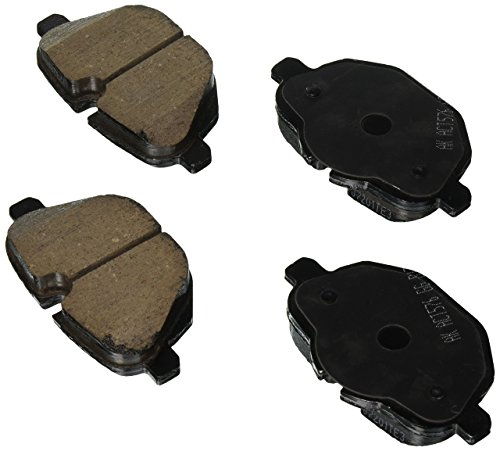 (EURO EUR1473 Akebono EURO Ultra Premium Ceramic Disc Brake Pad Kit)